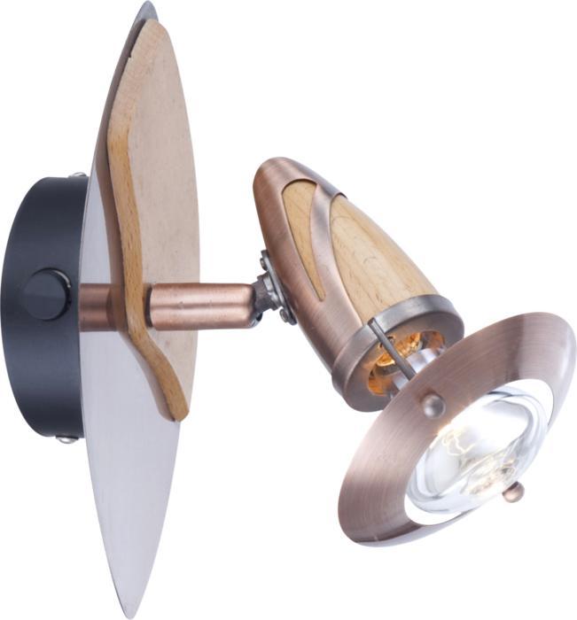 Настенно-потолочный светильник Globo New 5436-1, E14, 40 Вт спот точечный светильник globo lord 54330 4