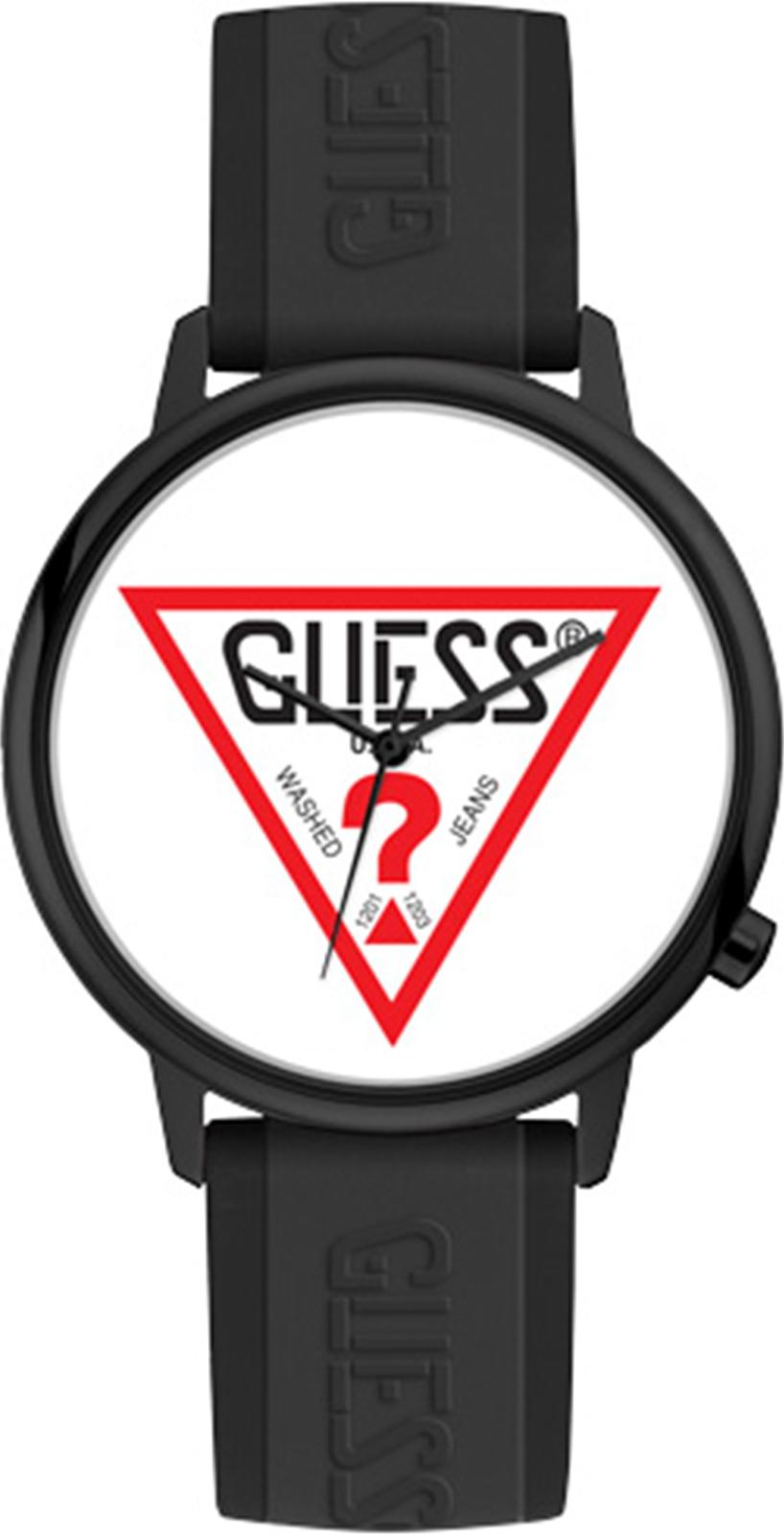 Часы Guess Originals Hollywood, черный guess ремень