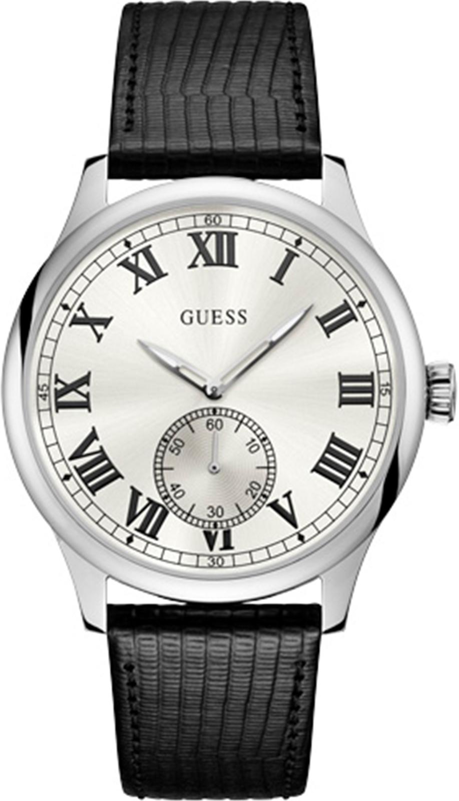 Часы Guess CAMBRIDGE, черный guess ремень