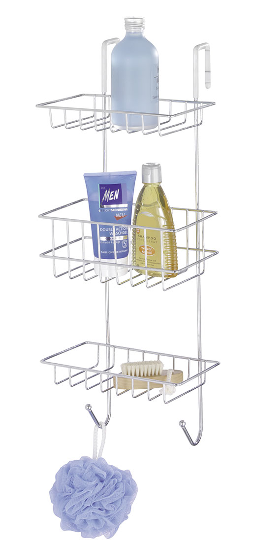 Полка для ванной комнаты ХИТ - декор 04685 этажерка с деревянными полочками pristin ws004