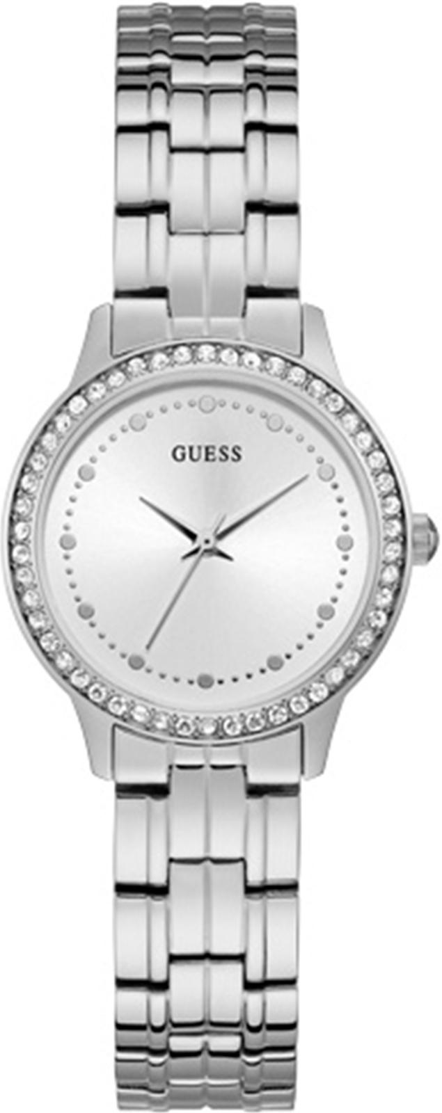 Часы Guess CHELSEA, серебристый цена и фото
