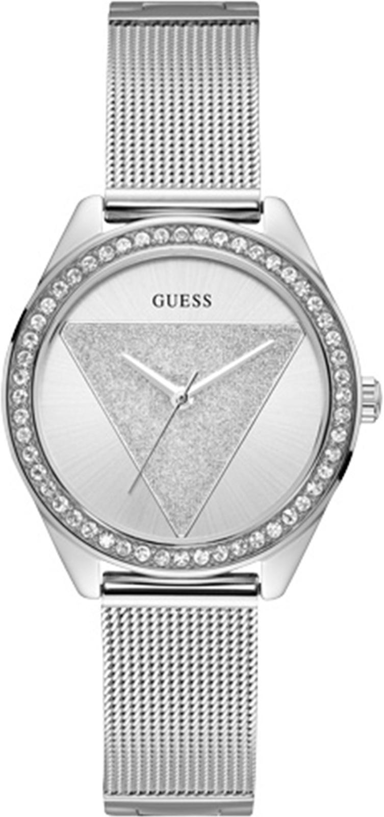 Часы Guess TRI GLITZ, серебристый цена и фото