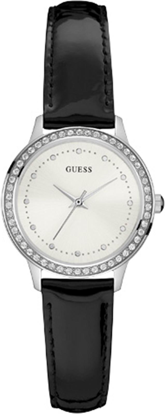 Часы Guess CHELSEA, черный, серебристый цена и фото