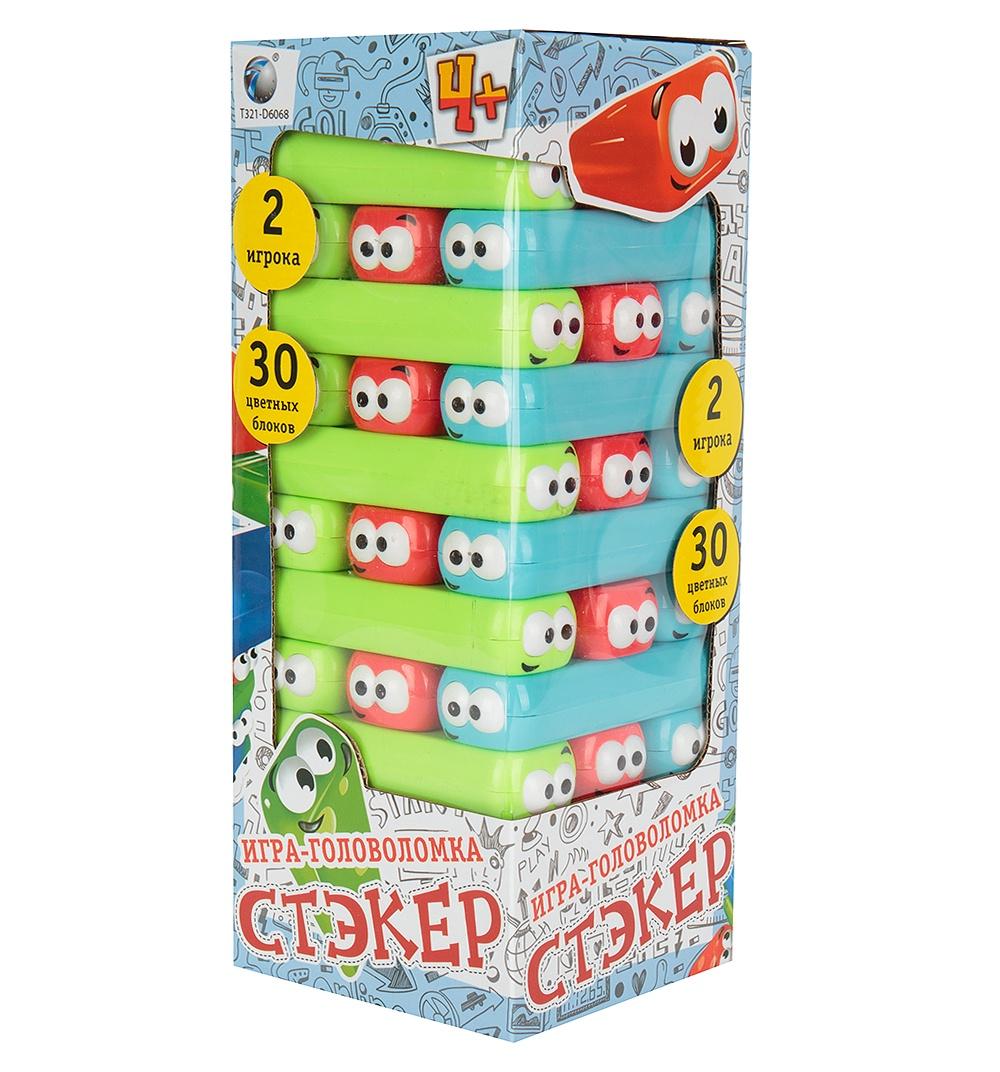 Настольная игра Tongde Головоломка Стэкер 707-68 игра головоломка recent toys cubi gami