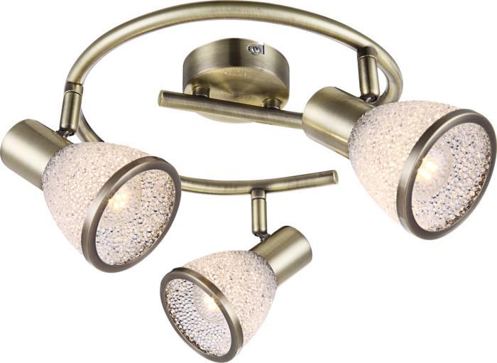 Настенно-потолочный светильник Globo New 56046-3, бронза globo 56046 2