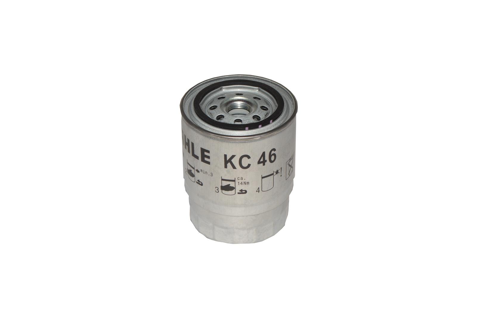Топливный фильтр Mahle ORIGINAL KC46 фильтр топливный mahle kl438