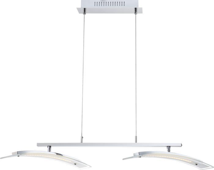 Подвесной светильник Globo New 68102-2H, серый металлик подвесной светильник globo new 67015 7h серый металлик