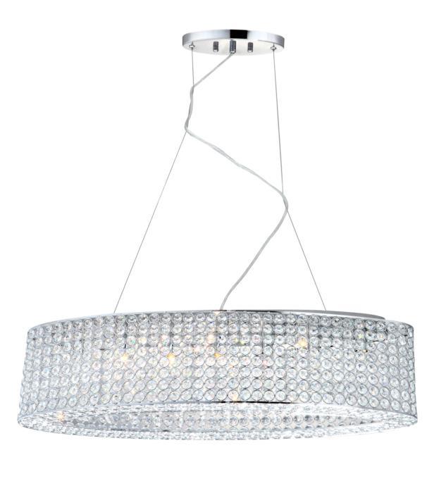 Подвесной светильник Globo New 67015-7H, серый металлик люстра globo emilia gb 67017 9hl