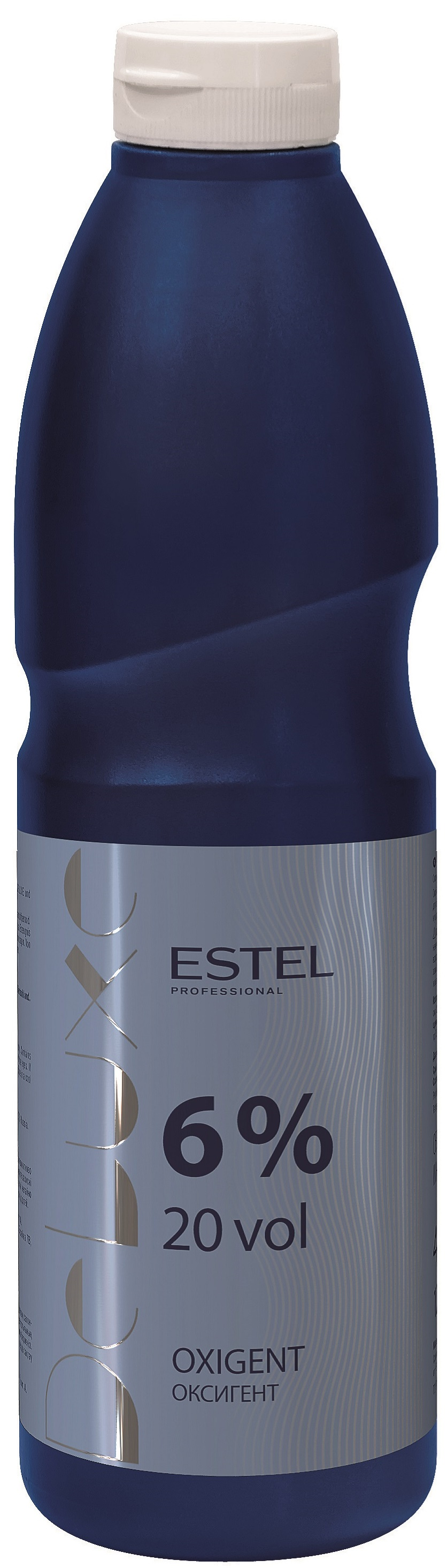 Фото - Окислитель ESTEL PROFESSIONAL оксигент DE LUXE 6 процентов 900 мл estel дозатор для флакона 1000 мл estel professional