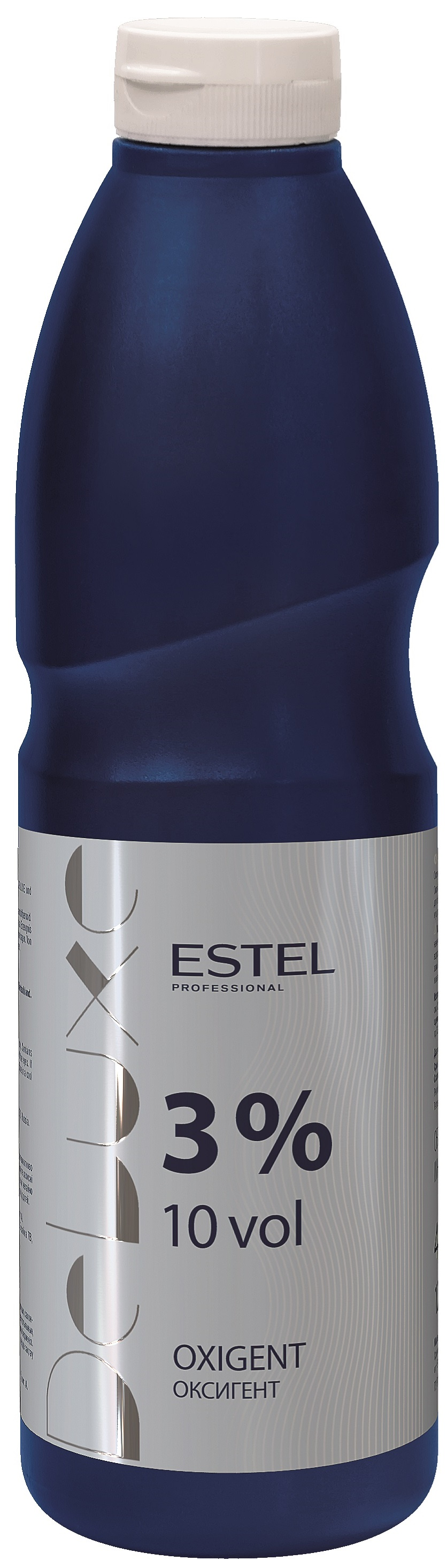 Окислитель ESTEL PROFESSIONAL оксигент DE LUXE 3 процента 900 мл эмульсия alterna lengthening hair and scalp elixir 50 мл