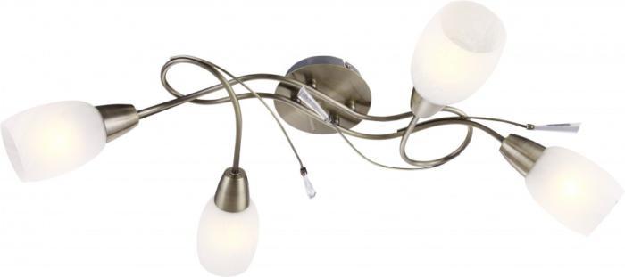 Потолочный светильник Globo New 54645-4, бронза потолочная люстра globo forrest 54645 6