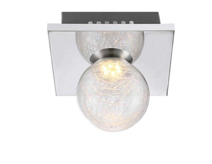 Потолочный светильник Globo New 56864-1, LED, 3 Вт потолочный светильник globo new 0307w