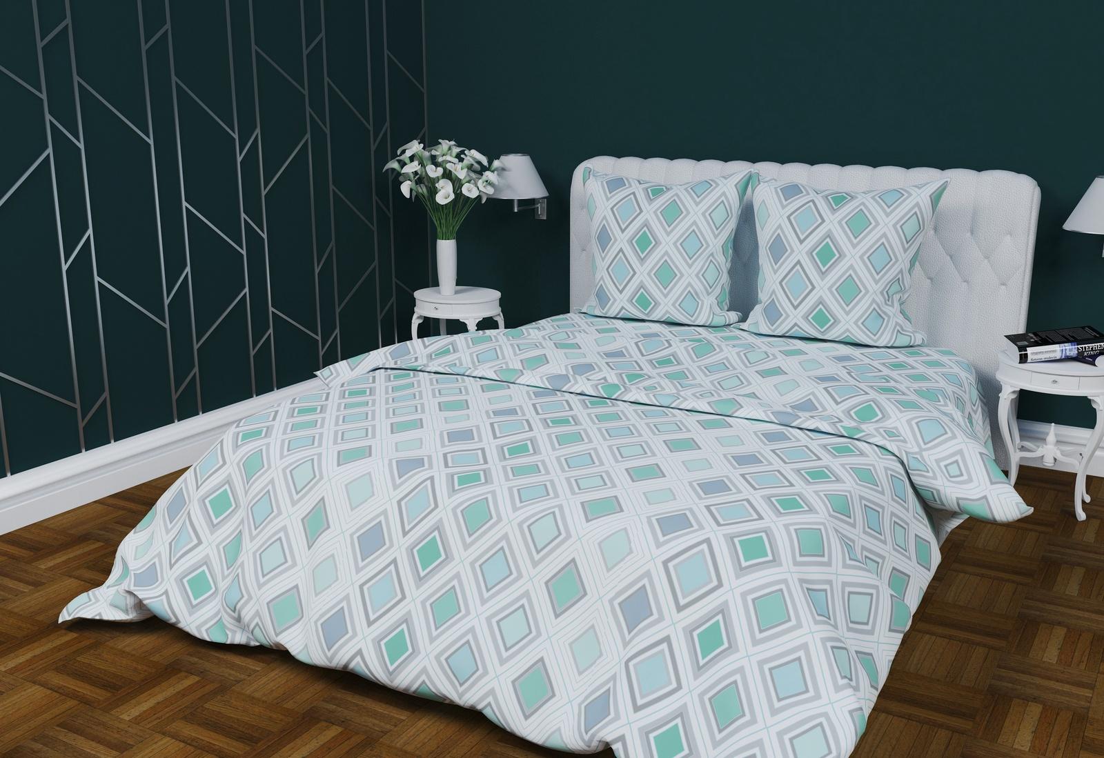 Комплект постельного белья Текстильная лавка Ромбы комплект штор томдом риолиз