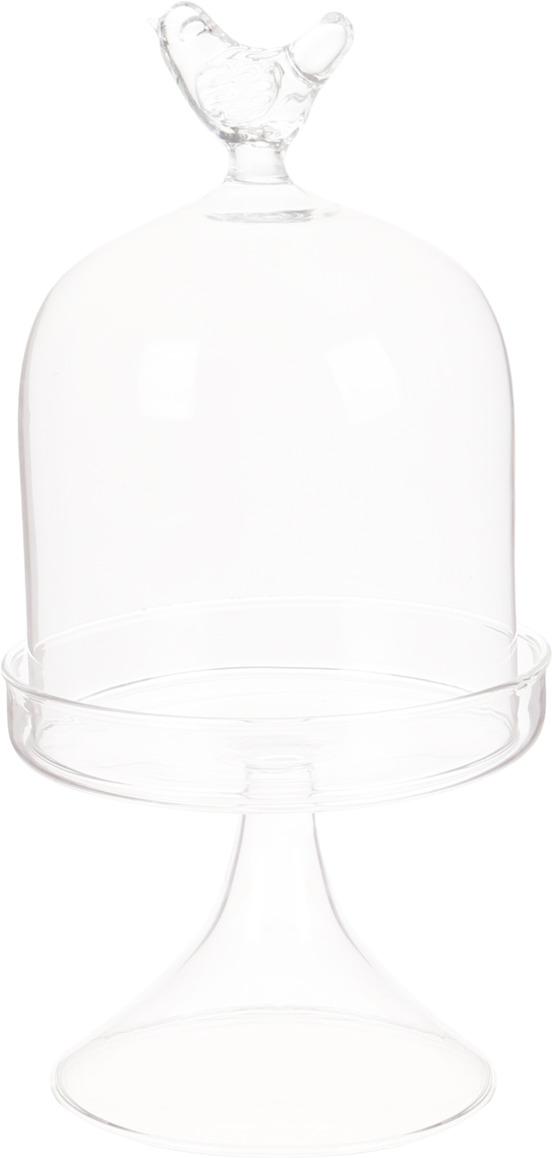 Ваза Lefard Птичка, 862-156, прозрачный, 10 х 10 х 20 см ваза декоративная lefard амфора 24 см