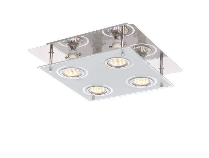 Потолочный светильник Globo New 48970-4, LED, 3 Вт потолочный светильник globo new 0307w