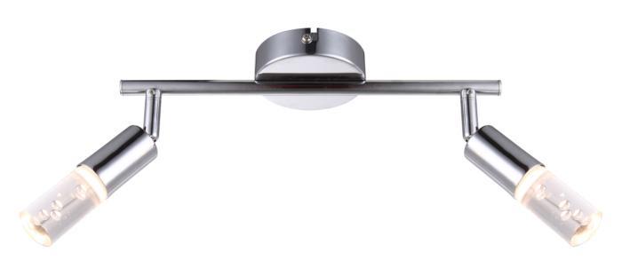 Настенно-потолочный светильник Globo New 56199-2, LED, 4 Вт globo светодиодный спот globo peru 56199 1
