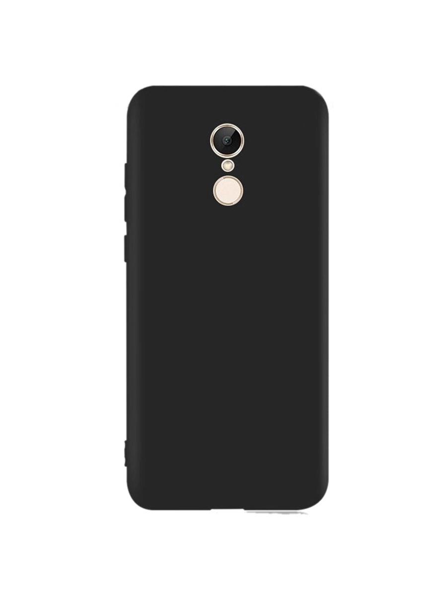 Чехол для сотового телефона YOHO Redmi 5 Plus, черный клип кейс interstep slender для xiaomi redmi 3 прозрачный