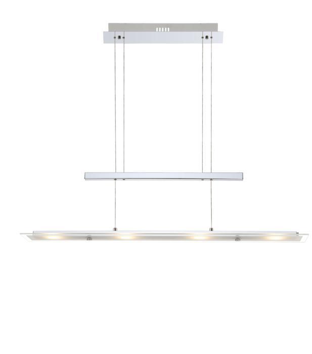 Подвесной светильник Globo New 6844-4H, серый металлик подвесной светильник globo new 67015 7h серый металлик