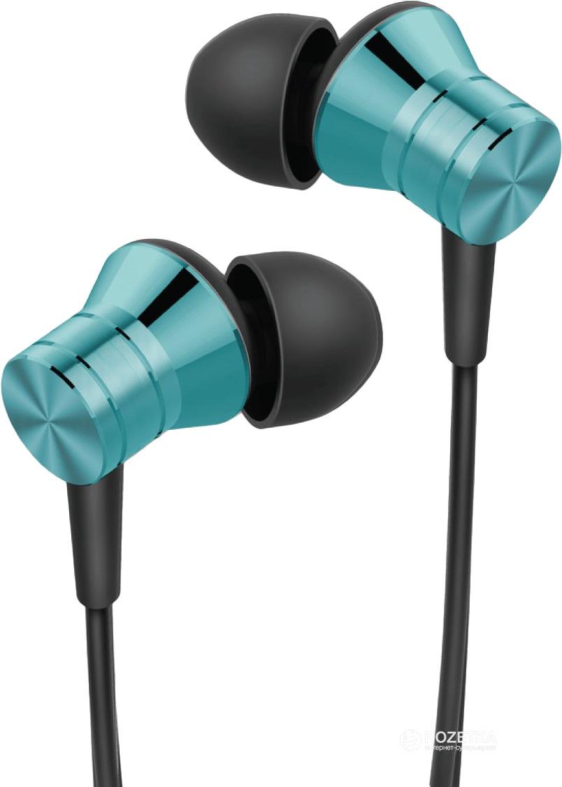 Наушники 1MORE Xiaomi E1009 Blue Piston Fit In-Ear Headphones, синий