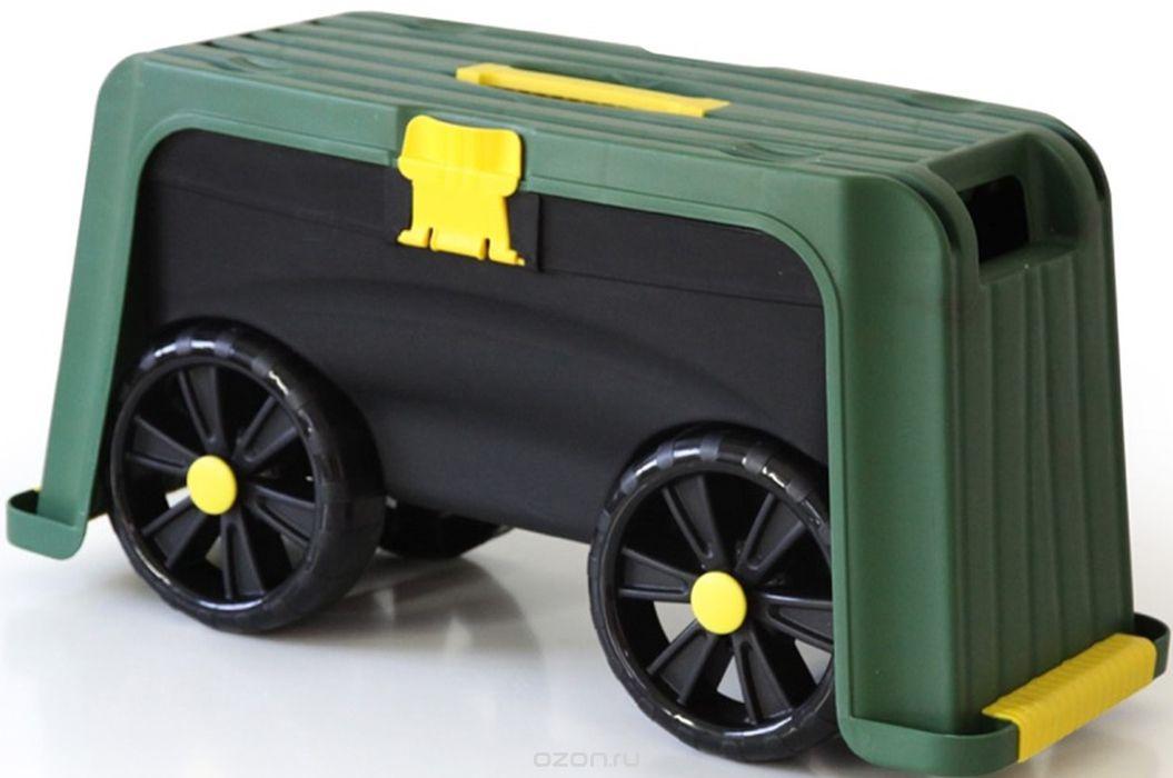 Садовая скамья Roll N Kneel 4-1, светло-зеленый