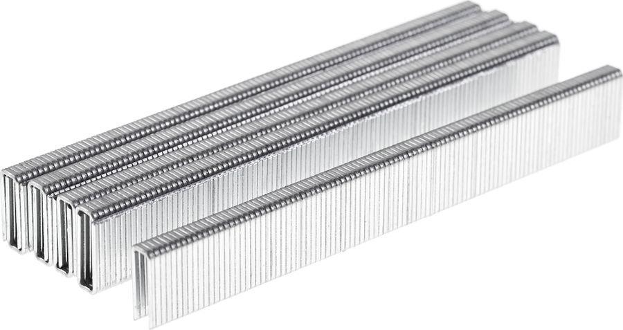 Скобы для строительного степлера Wester NT5040, 826-017, серый, высота 16 мм, 1000 шт гвозди для пневмостеплера wester 826 002