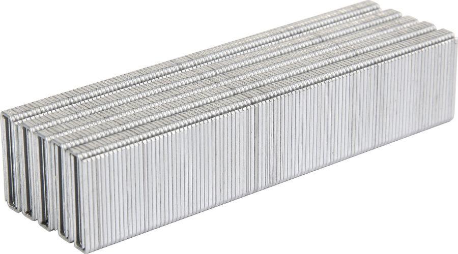 Скобы для строительного степлера Wester NT5040, 826-000, серый, высота 25 мм, 1000 шт