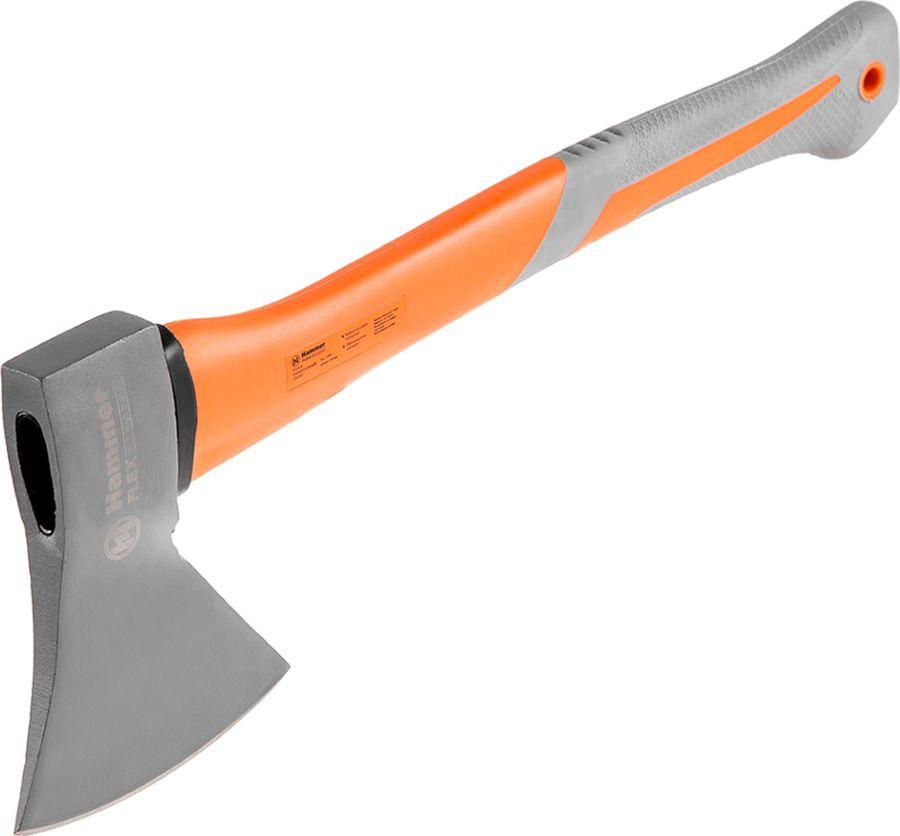 Топор Hammer Flex, 236-005, серый, оранжевый, 1 кг, длина 43 см