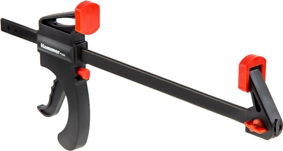 Струбцина Hammer Flex, F-образная, 601-053, черный