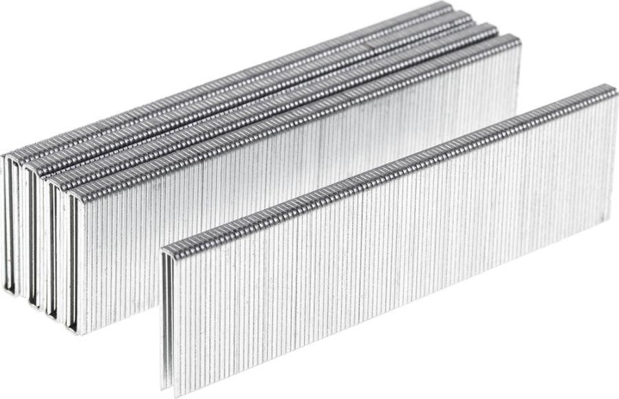 Скобы для строительного степлера Wester NT5040, 826-019, серый, высота 32 мм, 1000 шт