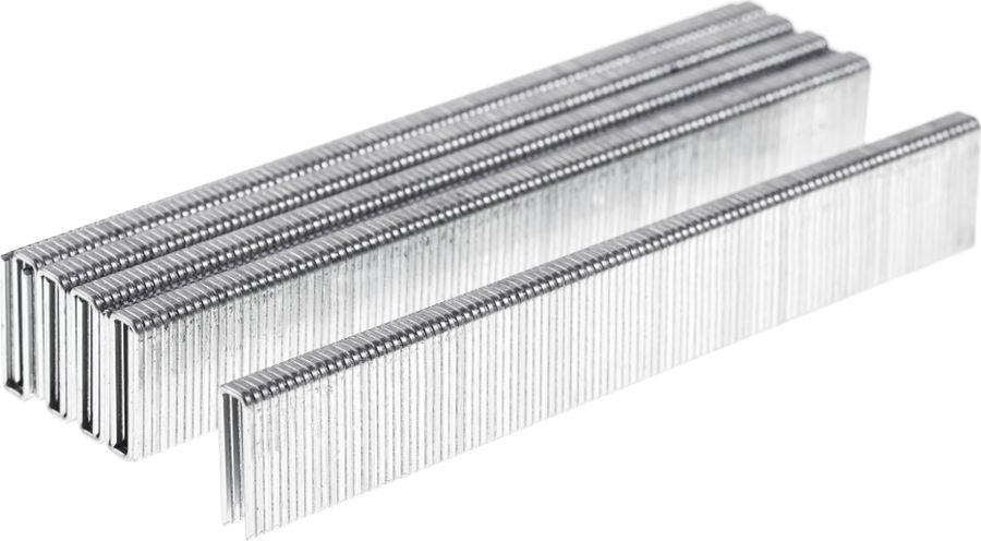 Скобы для строительного степлера Wester NT5040, 826-018, серый, высота 19 мм, 1000 шт