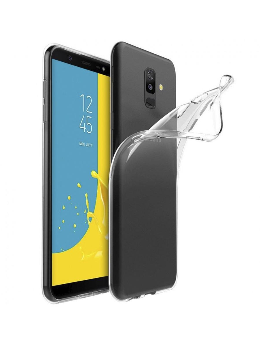 Чехол для сотового телефона YOHO Samsung J8 (2018), прозрачный чехол клип кейс df scase 74 для samsung galaxy a10 прозрачный