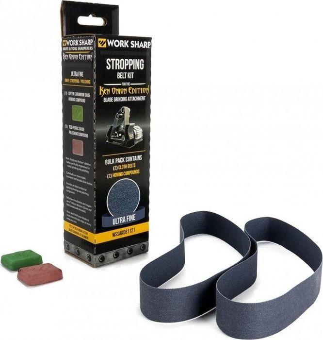 Набор абразивных ремней Work Sharp Ken Onion, для электроточилки, R38668 , разноцветный ремень для электроточилки work sharp aluminum oxide p400