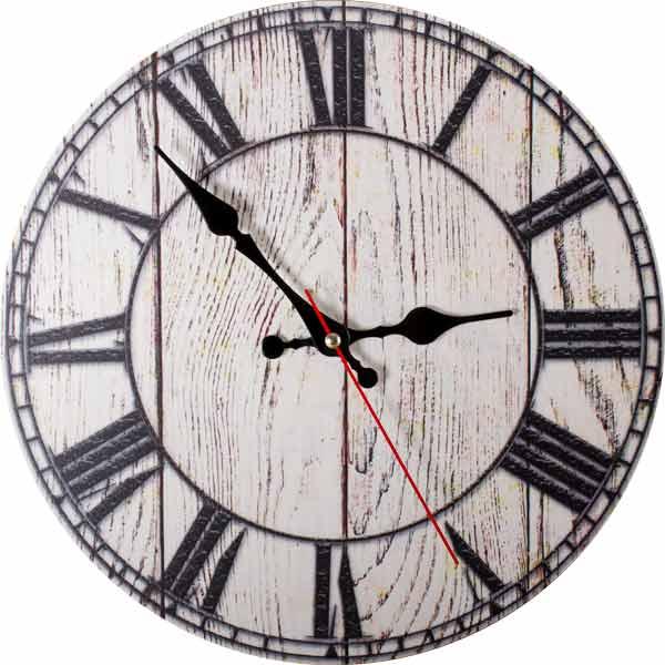 Настенные часы Дубравия Деревянные доски