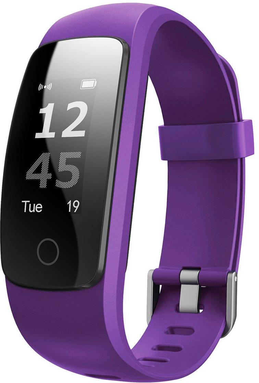 Фитнес-браслет Lime 117HR, фиолетовый стоимость