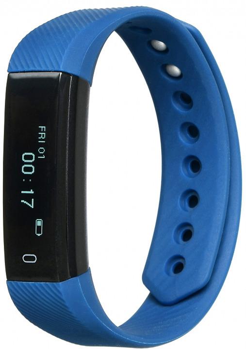 Фитнес-браслет Lime 115, синий стоимость