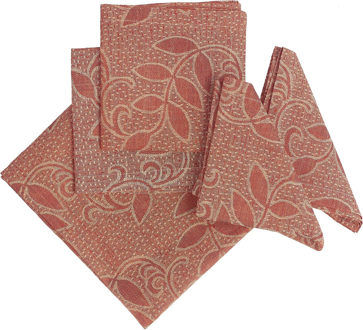 Набор столового белья Гаврилов-Ямский Лен, 713, оранжевый, золотистый capri одежда из льна