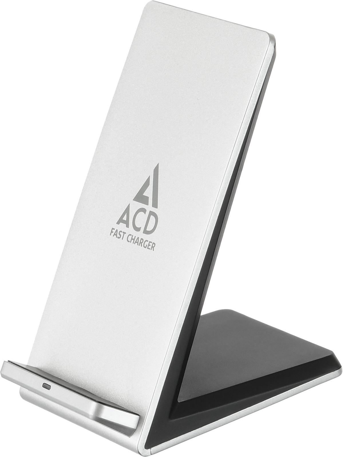 Беспроводное зарядное устройство ACD, 10Вт, ACD-W102S-F1S аксессуар acd link usb c usb a 1m white acd u910 c2w