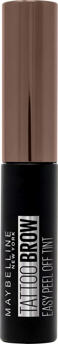 Стойкий гелевый тинт для бровей Maybelline New York Brow Tattoo, оттенок 15, Теплый коричневый, 5 мл