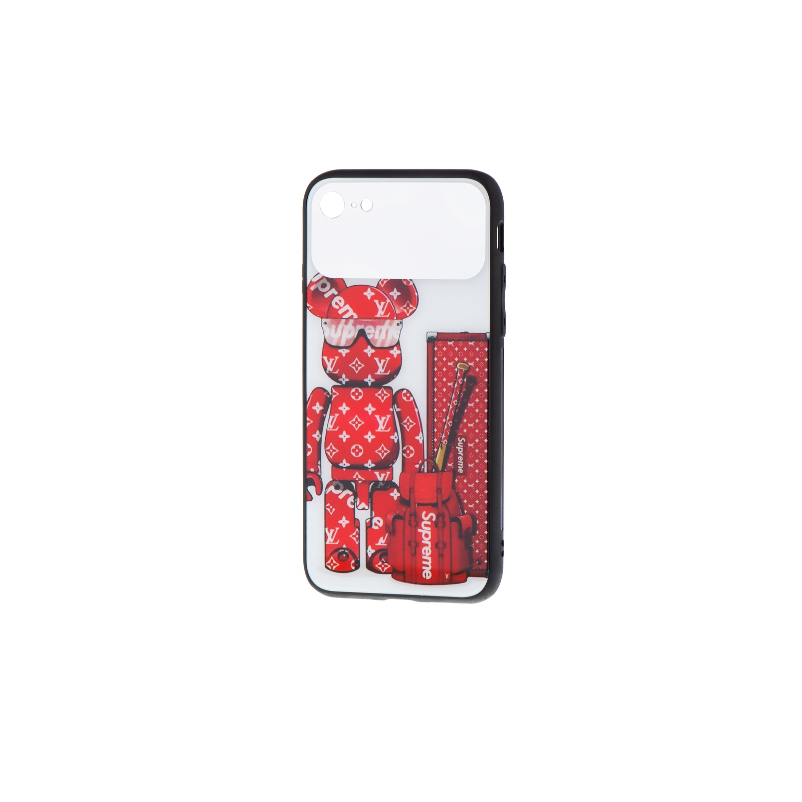 Чехол для сотового телефона Markclub@Hoco силиконовый для 7 и 8, красный беспроводная колонка markclub hoco tg 168 красный