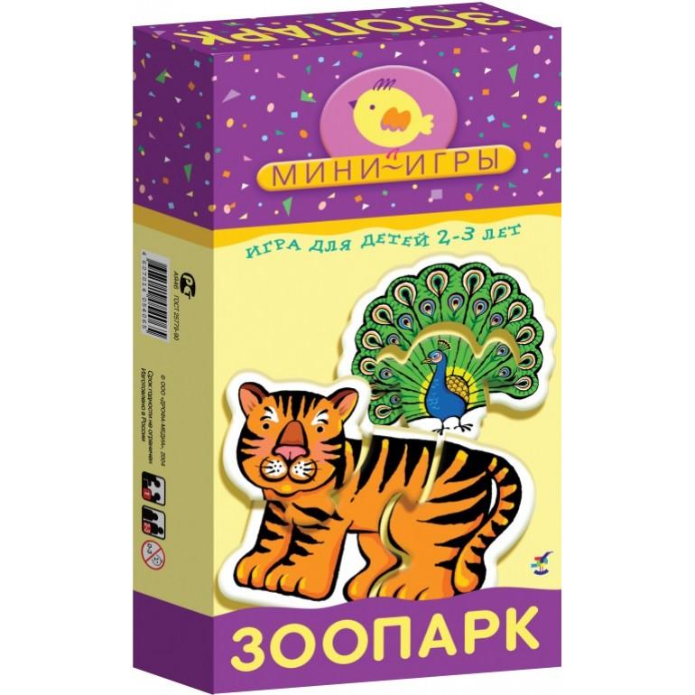 цена на Настольная игра Hobby World Мини-игры Зоопарк