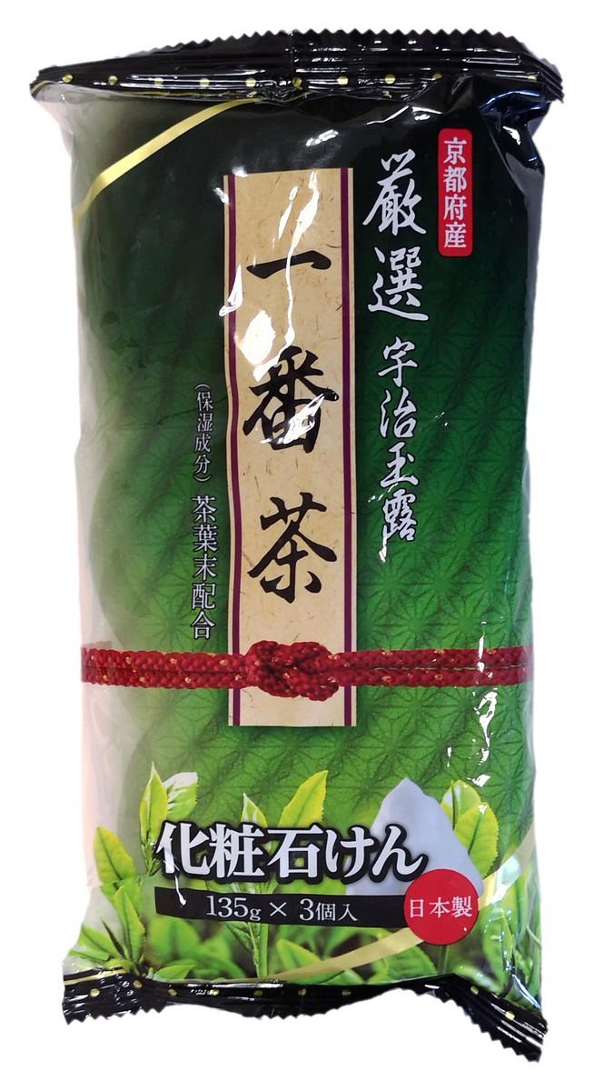 Мыло туалетное032721032721Мыло легко образует мягкую пену, очищает и освежает кожу лица и тела.Основной активный ингредиент – экстракт чайных листьев, тщательно отобранных в префектуре Киото, с высокой концентрацией кахетина. Чайный кахетин обладает антибактериальными и увлажняющими свойствами.Мыло экономично в использовании. Для создания густой пены рекомендуется использовать специальную косметическую сеточку для лица или мочалку для тела.Обладает освежающим ароматом зеленого чая.Меры предосторожности: не использовать при появлении покраснений, зуда, раздражения кожи. В случае возникновения неприятных ощущений прекратите использование средства и проконсультируйтесь с дерматологом. При попадании в глаза сразу же промойте их водой.