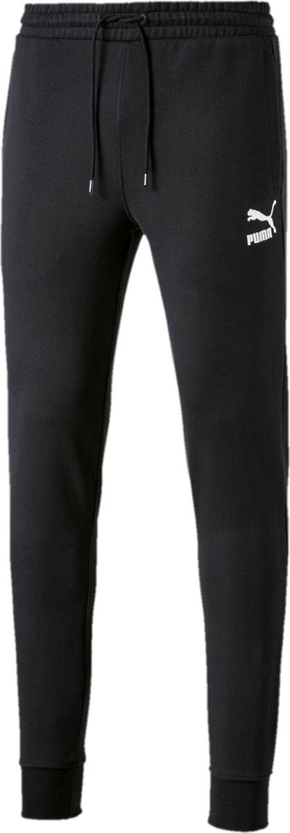 Брюки PUMA Classics Sweat Pants Cuffs брюки мужские puma ess sweat pants tr op цвет серый 838373031 размер xxl 52 54