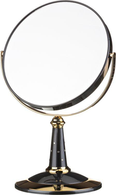 Зеркало настольное Lefard, увеличение х7, 416-081, диаметр 18 см недорго, оригинальная цена