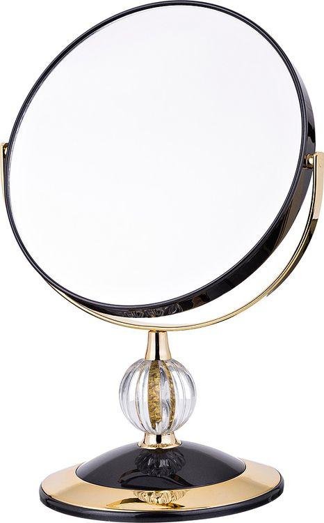 Зеркало настольное Lefard, увеличение х5, 416-085, диаметр 18 см недорго, оригинальная цена