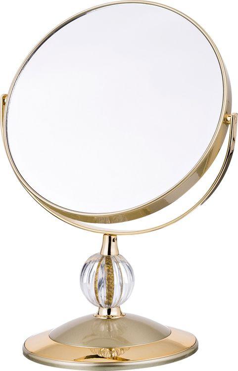 Зеркало настольное Lefard, увеличение х5, 416-086, диаметр 18 см