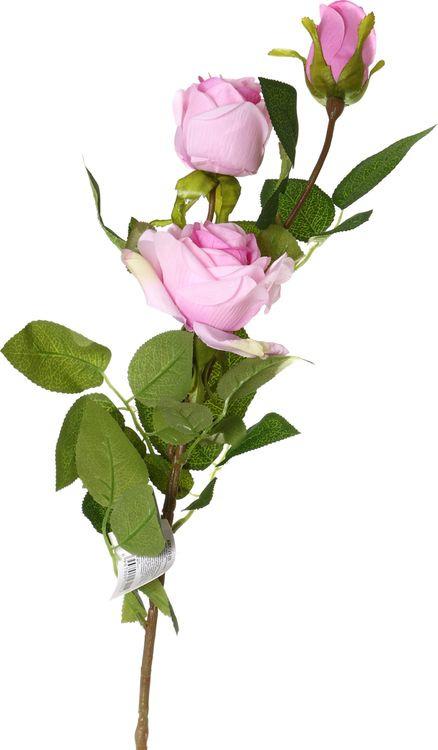 Искусственные цветы Lefard Роза, 23-225, 10 х 10 х 90 см