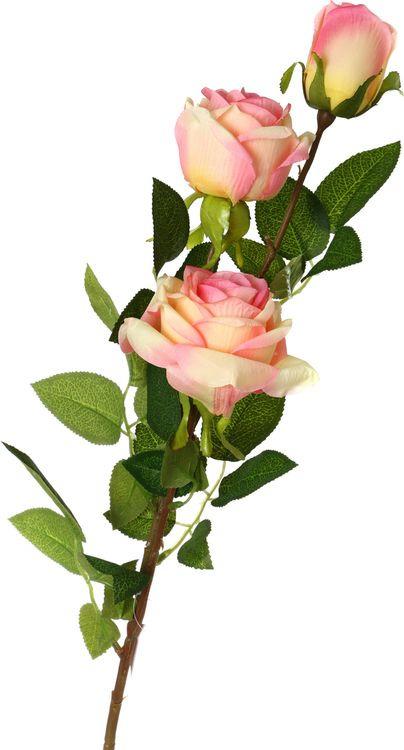 Искусственные цветы Lefard Роза, 23-226, 10 х 10 х 90 см