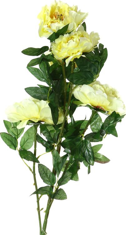 Искусственные цветы Lefard Пион, 23-231, 10 х 10 х 100 см