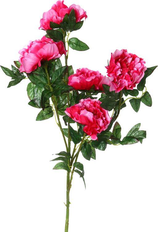 Искусственные цветы Lefard Пион, 23-232, 10 х 10 х 100 см