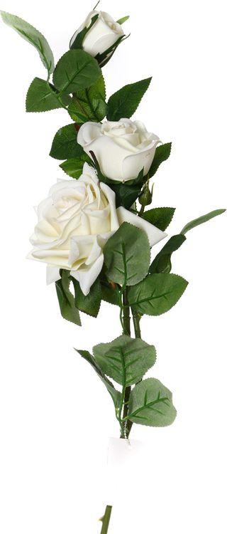 Искусственные цветы Lefard Роза, 23-234, 8 х 8 х 90 см